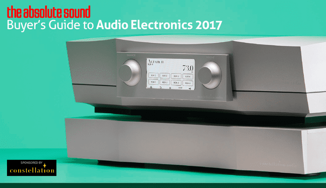 The Absolute Sound's Buyer's Guide to Electronics 2017