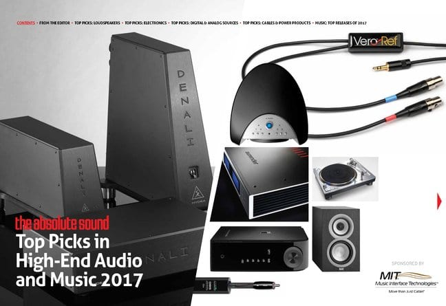 The Absolute Sound's Top Picks in High-End Audio and Music 2017