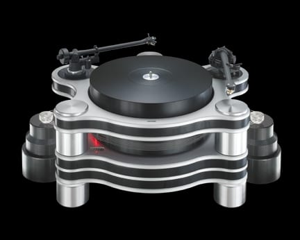Hanss T-60 Turntable and Graham Phantom II Supreme Tonearm
