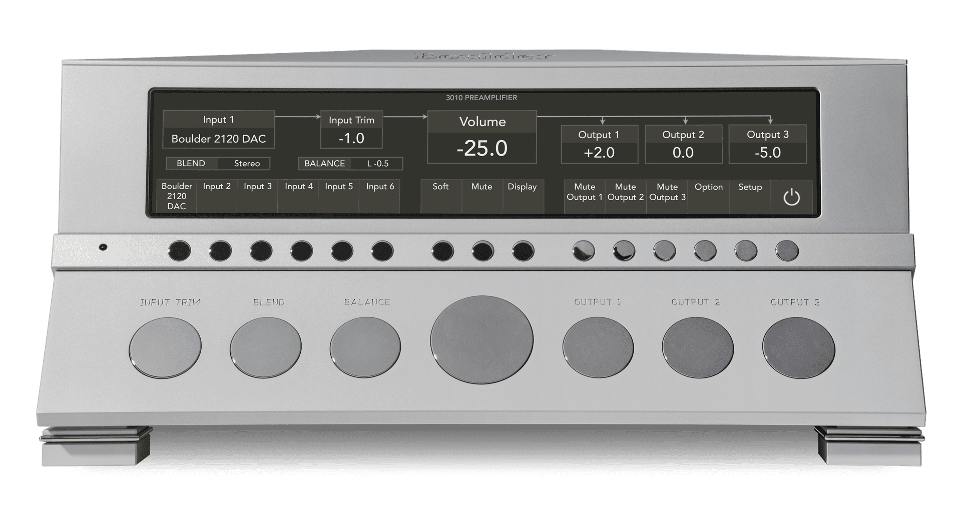 Boulder 3010 Preamplifier and  2108 Phono Preamplifier