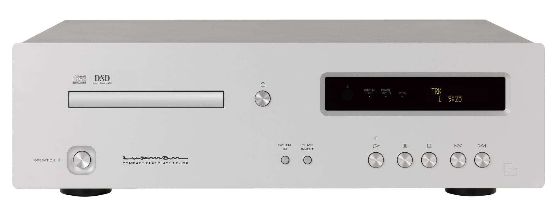 Luxman Introduces D-03X CD/Digital Media Player
