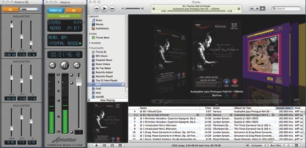 SonicStudio Amarra Software (Playback, from TAS 202)