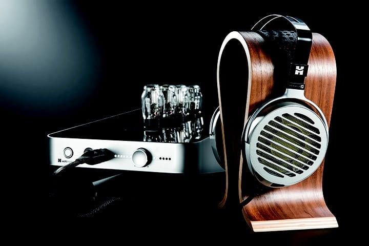 HiFiMAN Shangri-La Junior electrostatic headphone and valve-driven amplifier