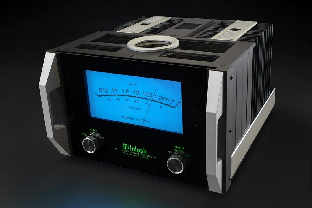 McIntosh Announces MC1.25KW Quad Balanced Power Amplifier