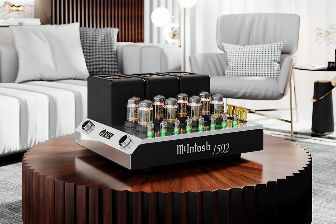 McIntosh Announces MC1502 Vacuum Tube Amplifier