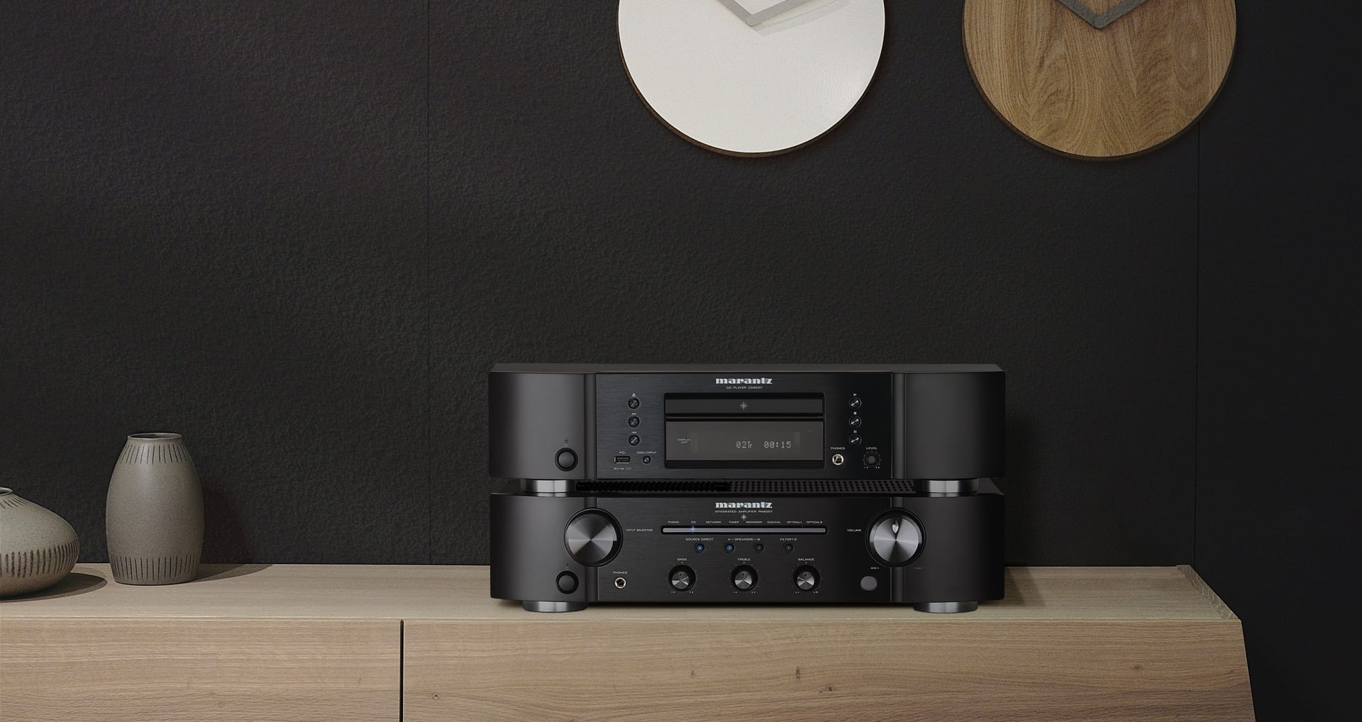 Marantz Introduces New Entry Level Integrated Amp and CD Player