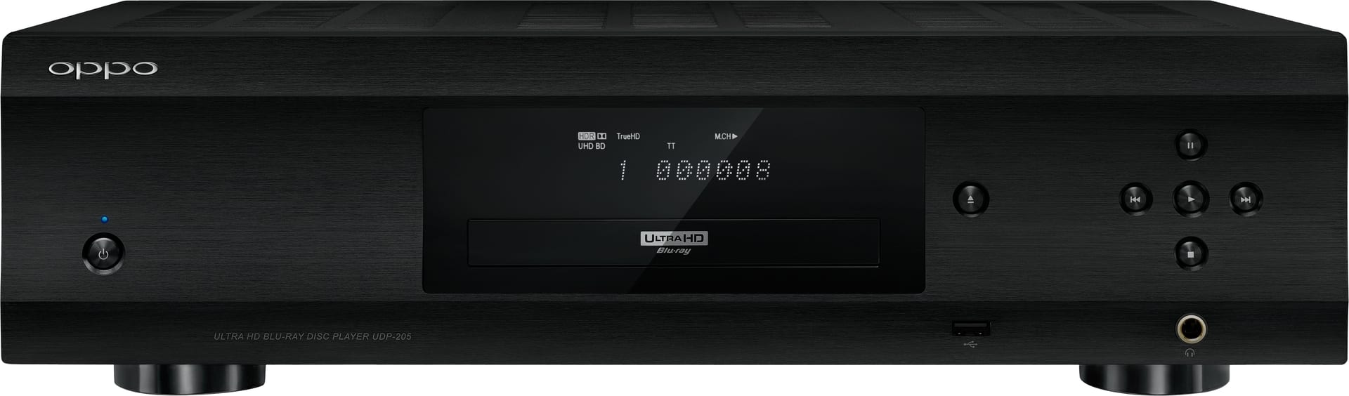 Oppo Digital UDP-205 Multi-Format Disc Player and DAC
