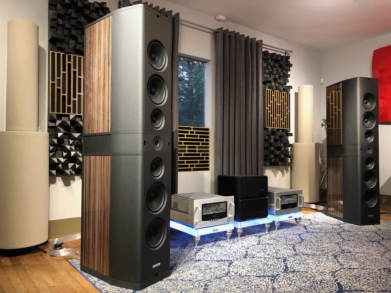 Audio Solutions Speakers at 3mA Audio Houston, TX