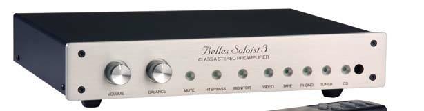 Belles Soloist Series 3 Preamp & Soloist 5 Amplifier