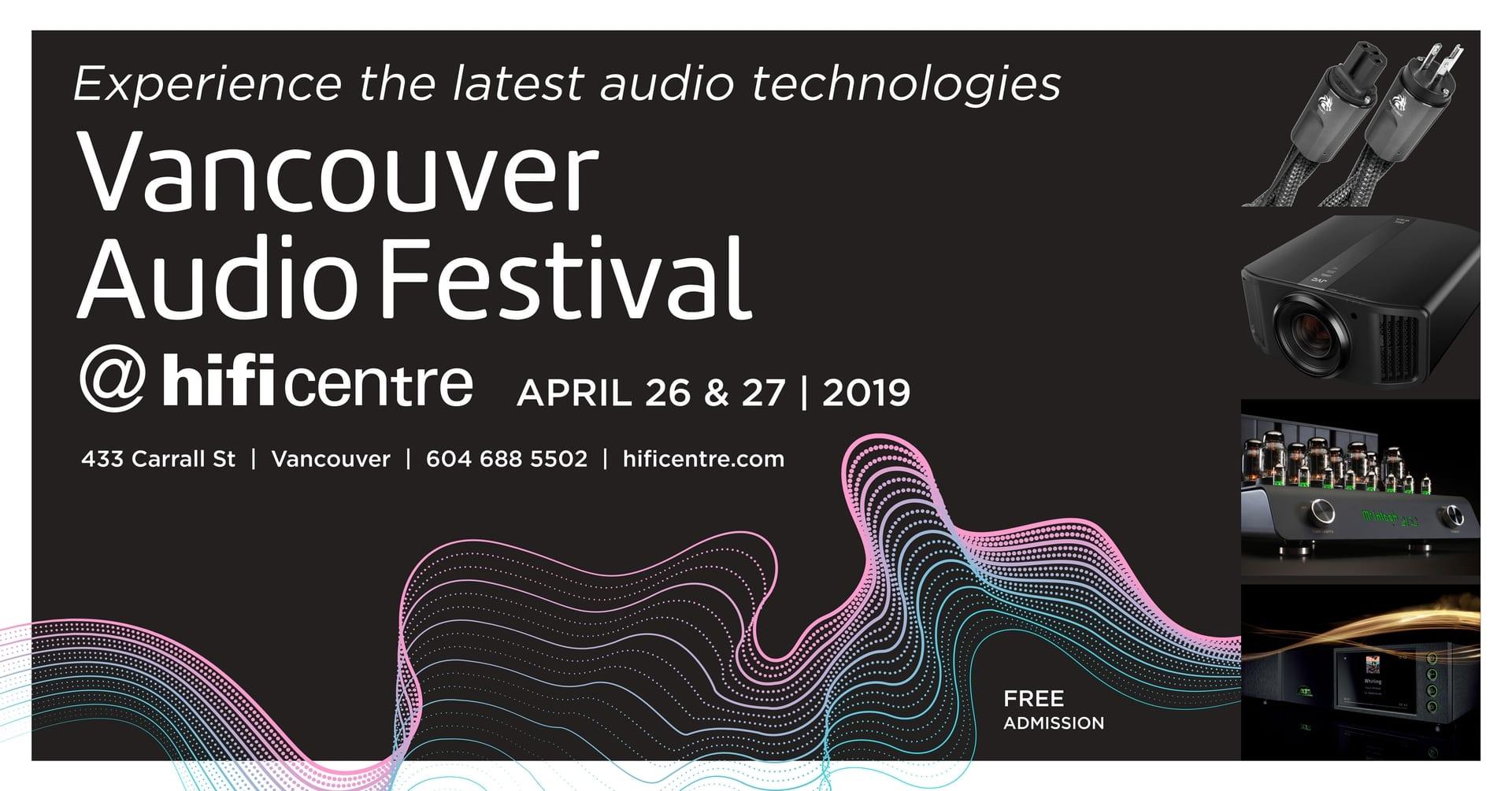 Hi-Fi Centre to Host Vancouver Audio Festival 2019