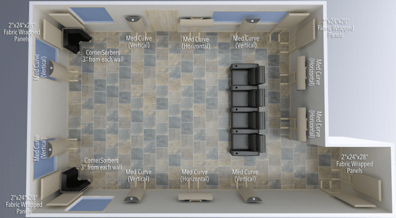 Acoustic Geometry Pro Room Pack 10 Acoustic Treatment Package