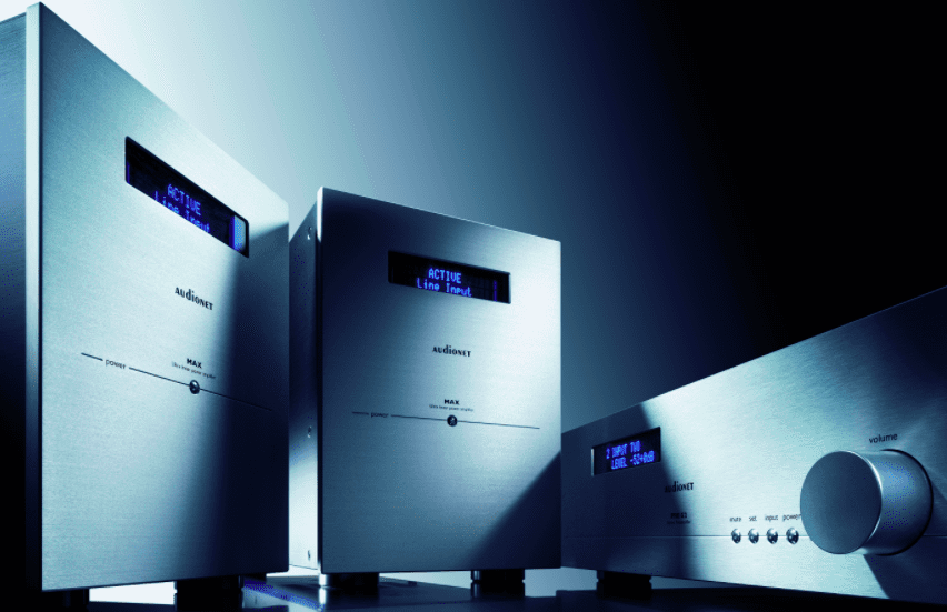 Audionet PRE G2 Linestage and MAX Monoblock Amplifiers