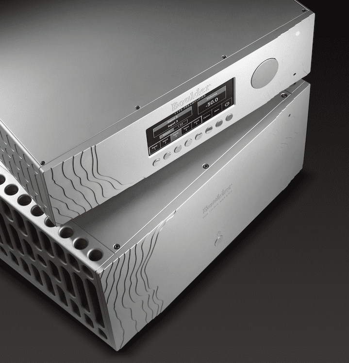 Boulder 1110 Preamplifier and 1160 Power Amplifier