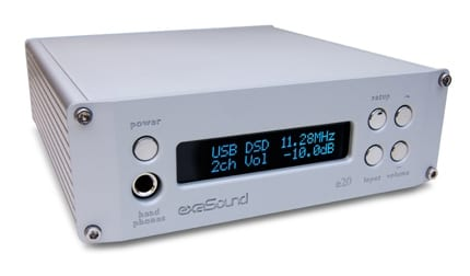 ExaSound Audio Design e20 Digital-to-Analog Converter