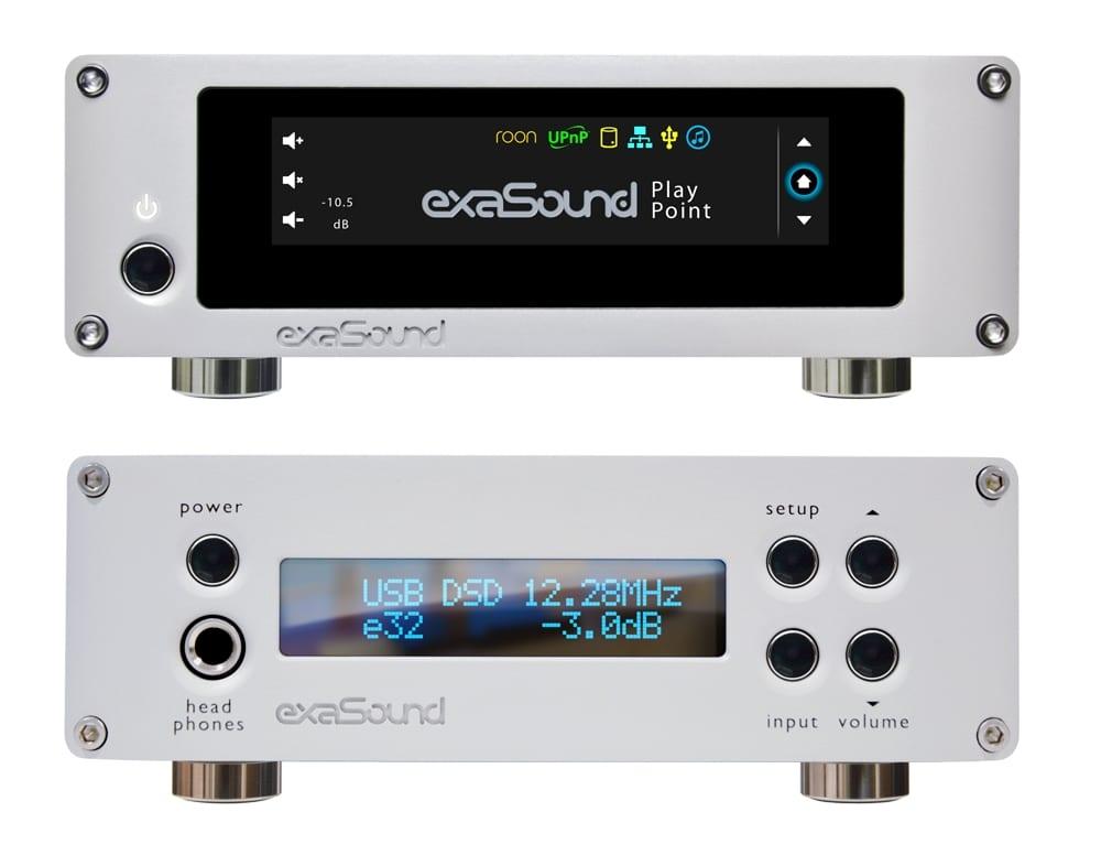 exaSound Audio Design PlayPoint Network Audio Player and e32 DAC