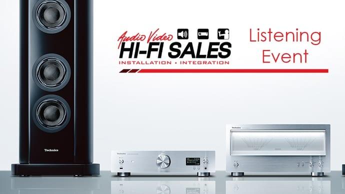 Hi-Fi Sales Company Hosts Technics Listening Event