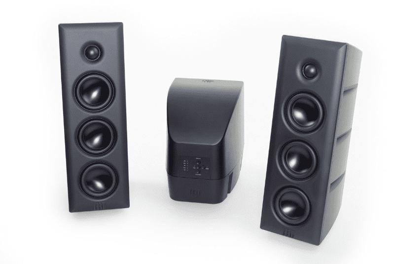 High-Resolution Technologies Stage IV Speaker/Amplifier System