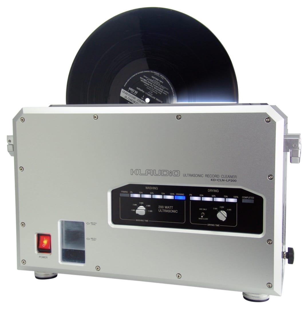 Klaudio KD-CLN-LP200 Ultrasonic Vinyl Record Cleaner