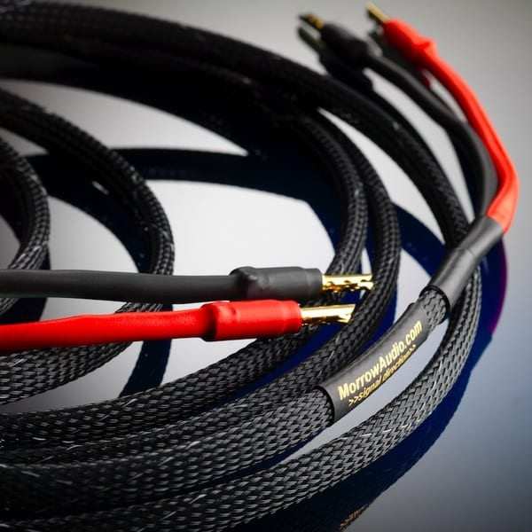 Morrow Audio SP7 Grand Reference Speaker Cable and MA4 Reference and MA7 Grand Reference interconnects