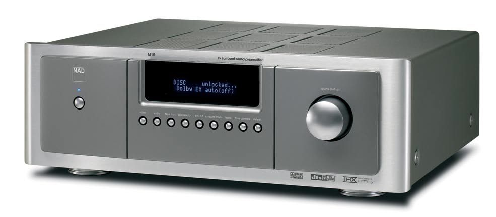 NAD M15 and M25 Multichannel Controller and Power Amp