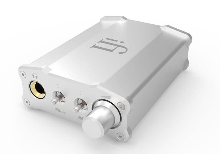 iFi Nano iCAN portable headphone amplifier