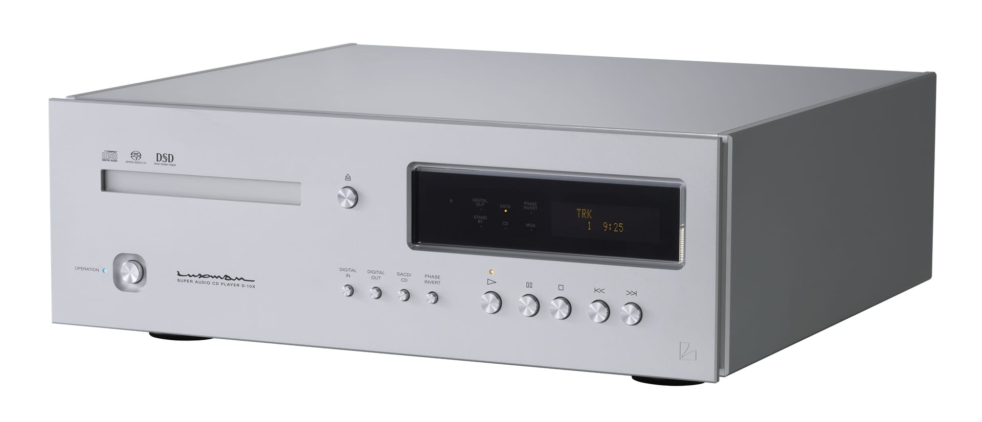 Luxman Launches D-10X flagship SACD/CD Player