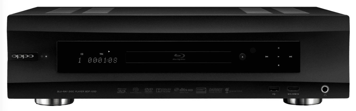 Oppo BDP-105D Multi-Format Disc Player