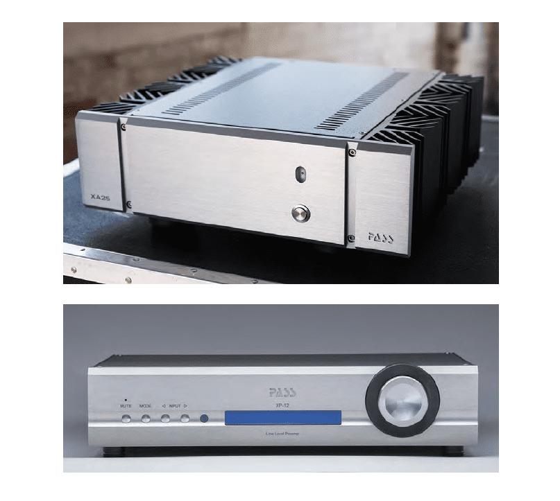 Pass Labs XP-12 Preamplifier and XA25 Amplifier