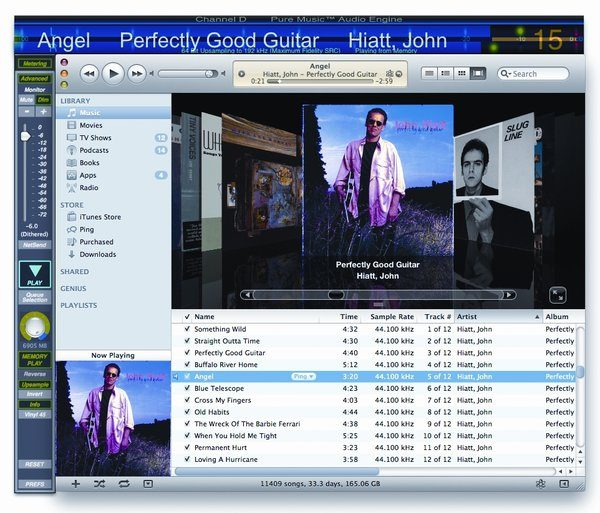 Pure Music Software (Playback, from TAS 209)