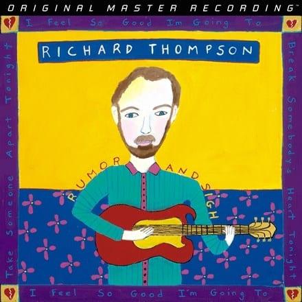 Richard Thompson:  Rumor and Sigh