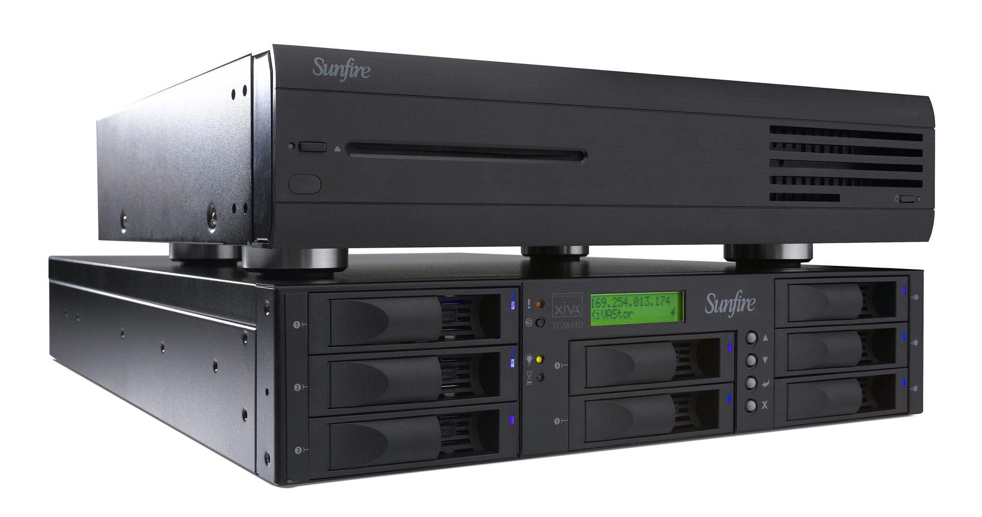 Sunfire Launches TGM-100 Media Server & TGM-HD Series Storage Arrays