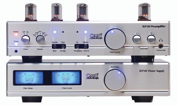 Cary Audio SLP 05 Linestage Preamplifier & CAD-211 FE Monoblock Amplifiers (TAS 205)