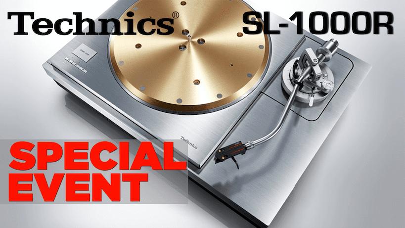 Technics SL-1000R Special Event