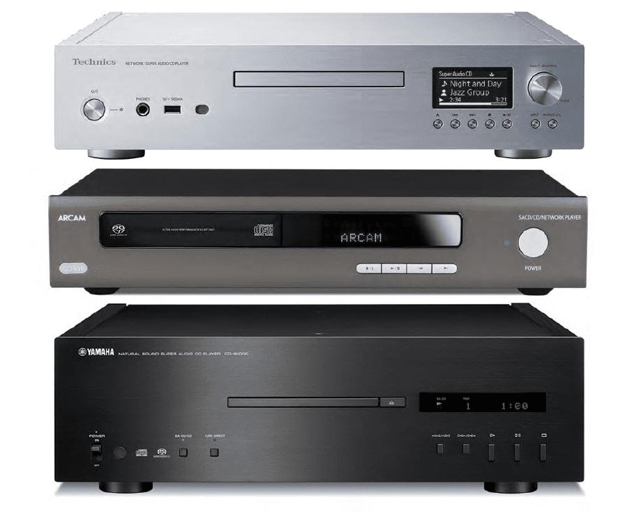 Three SACD/CD Players