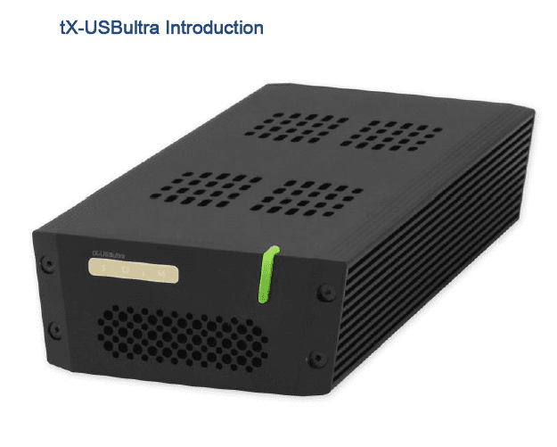 SOtM Audio Introduces tX-USBultra