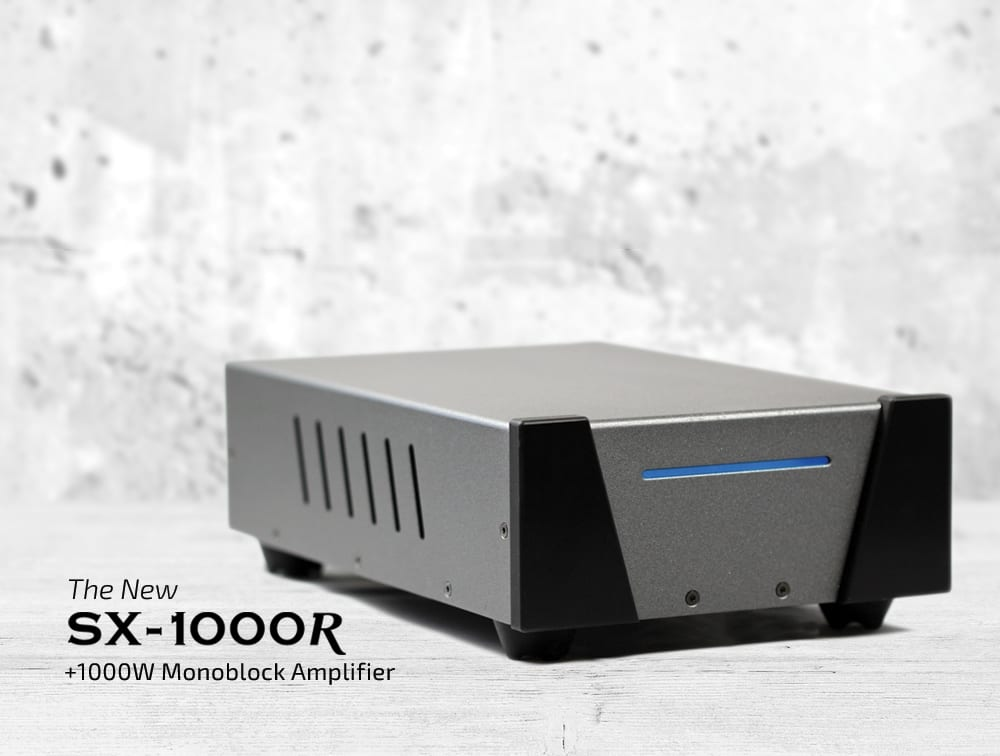Wyred 4 Sound Releases New Powerful Amplifier, The SX-1000R