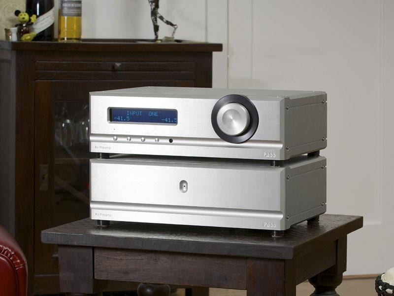 Pass Xs Preamp and Xs 300 Mono Power Amplifiers