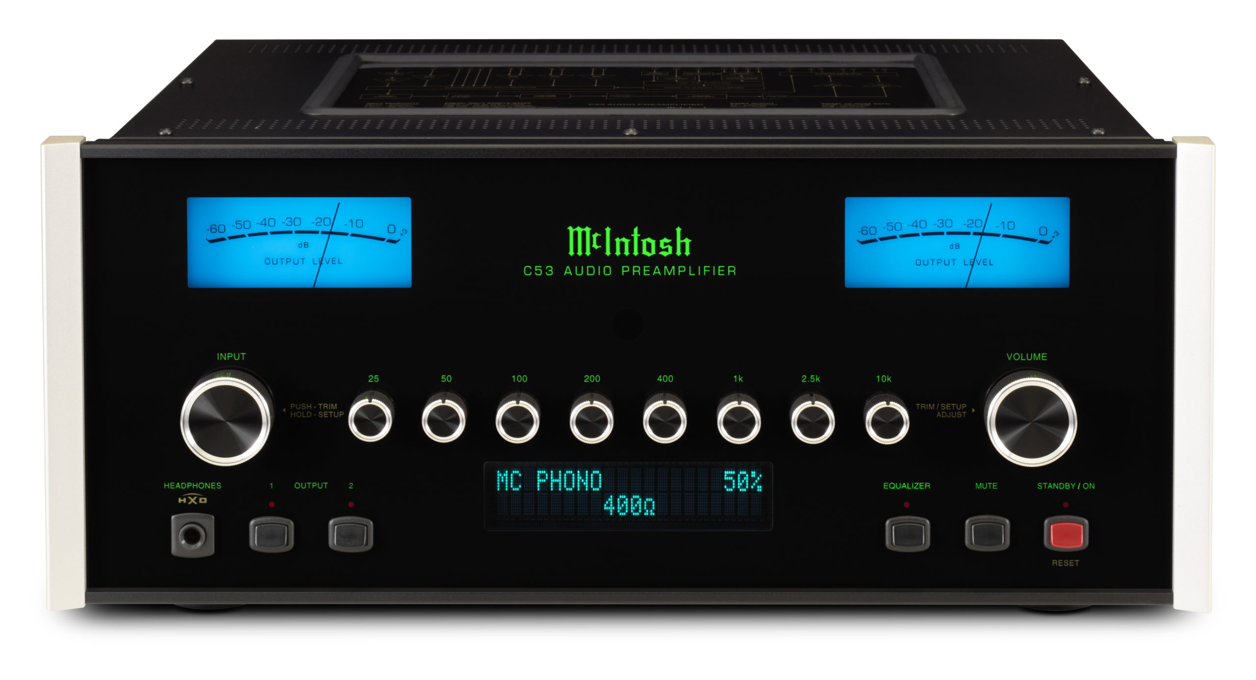 McIntosh C53 Preamplifier and MCT500 SACD/CD Transport
