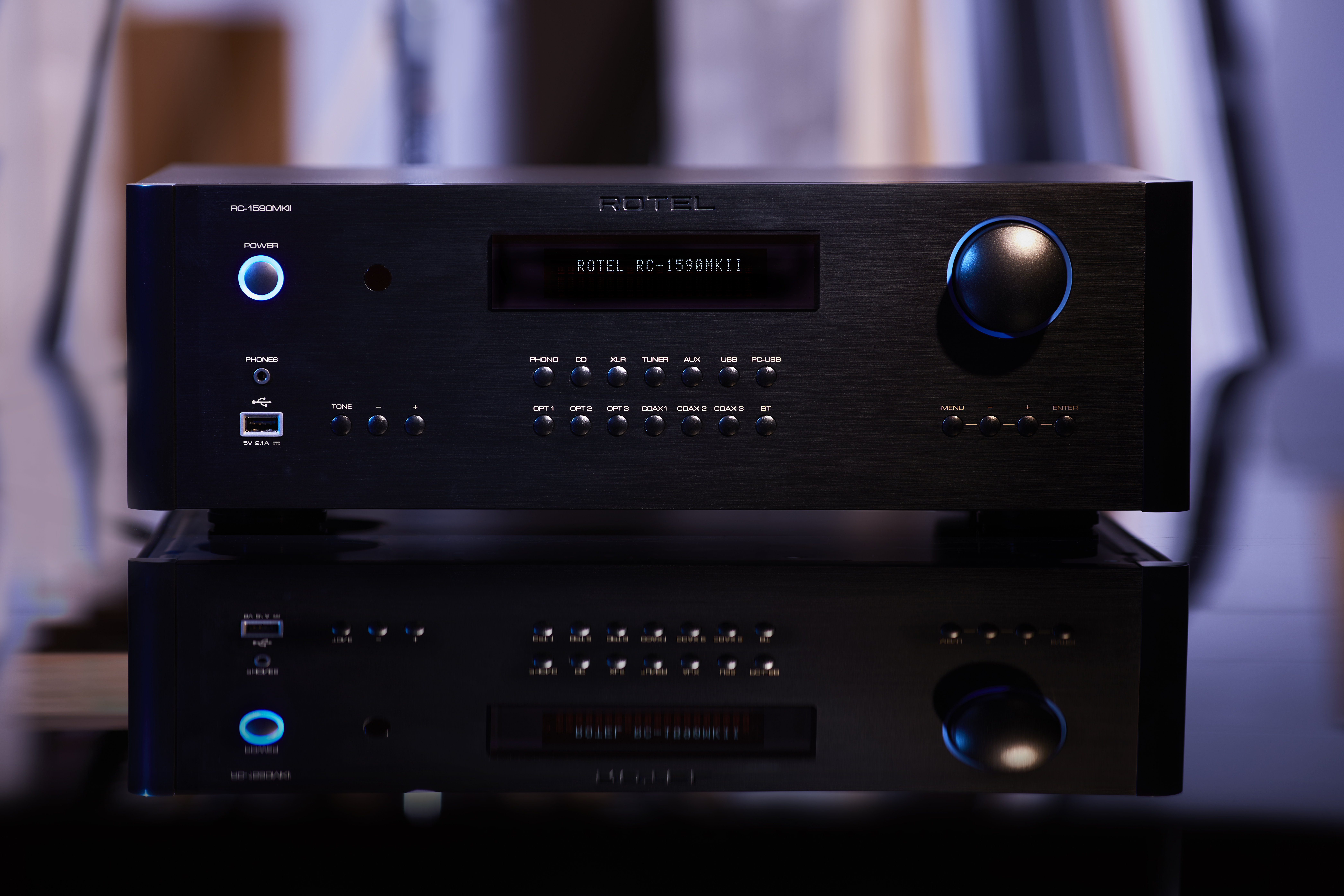 Rotel's Award Winning Stereo Preamplifiers Announced as MKII Models