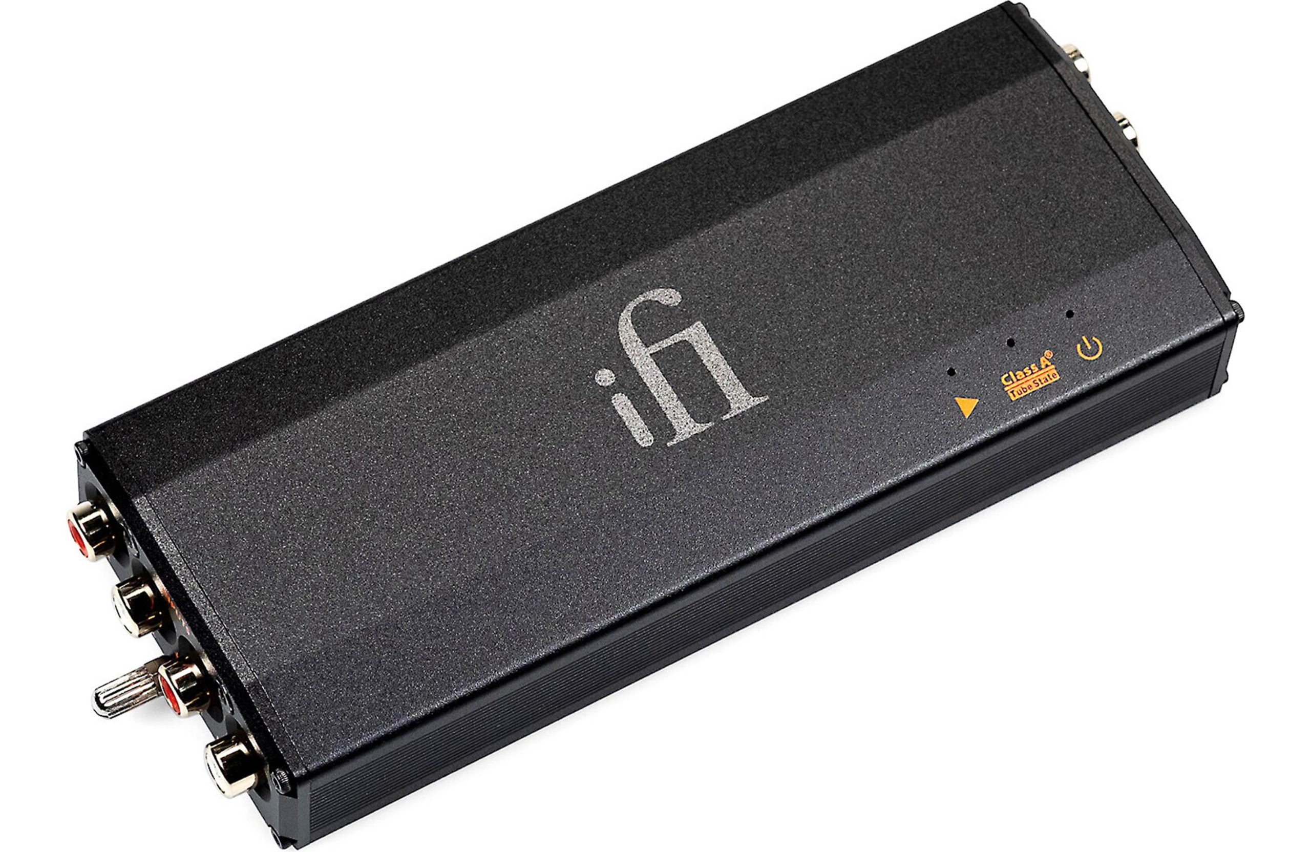 iFi iPhono 3 Black Label and Chord Electronics Huei Phonostages