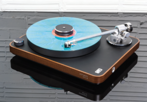 Clearaudio Concept Dark Wood Active Turntable