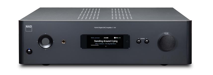 NAD Launches New C 399 Hybrid Digital DAC Amplifier