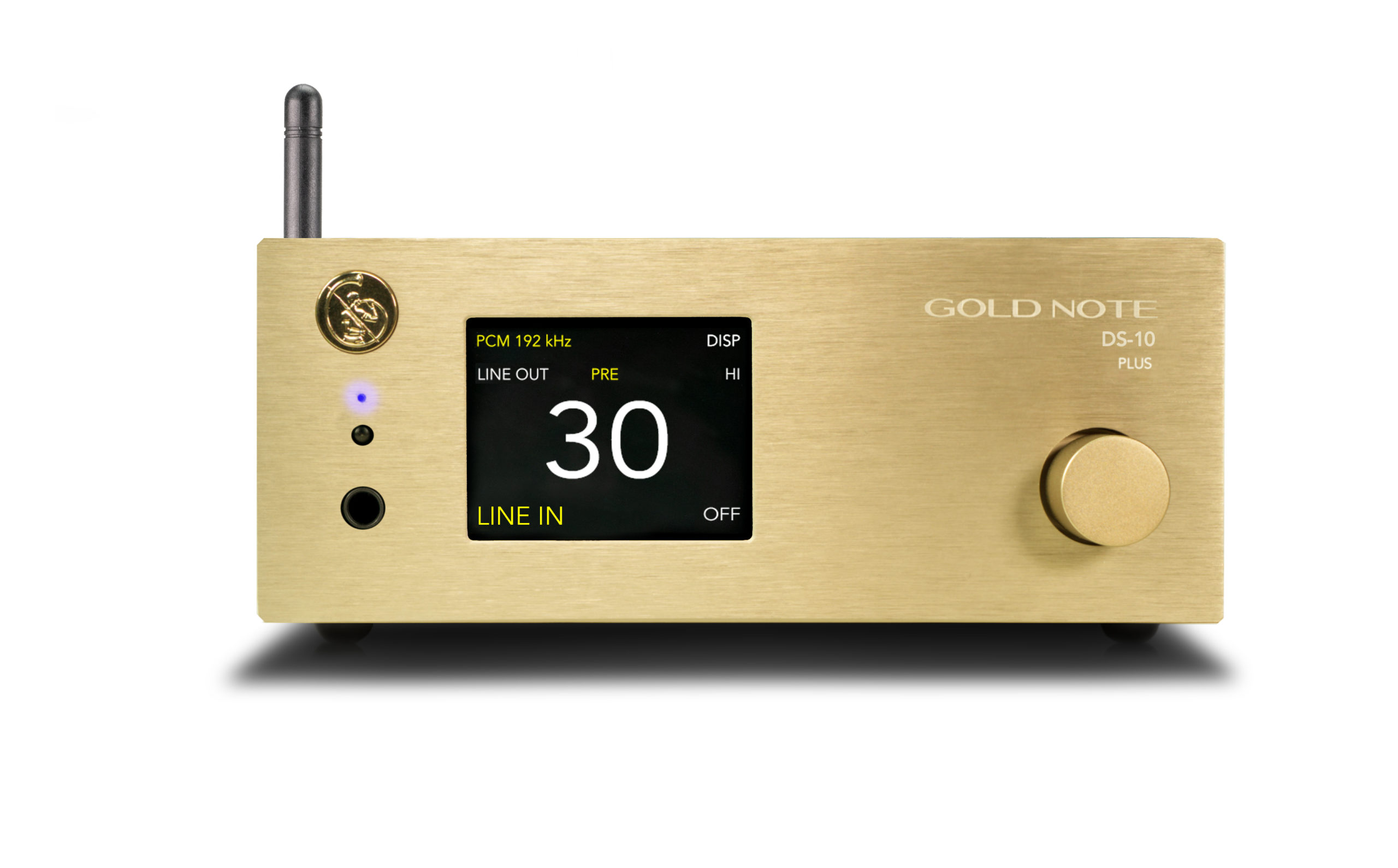 Gold Note DS-10 Plus Streaming DAC/Preamplifier