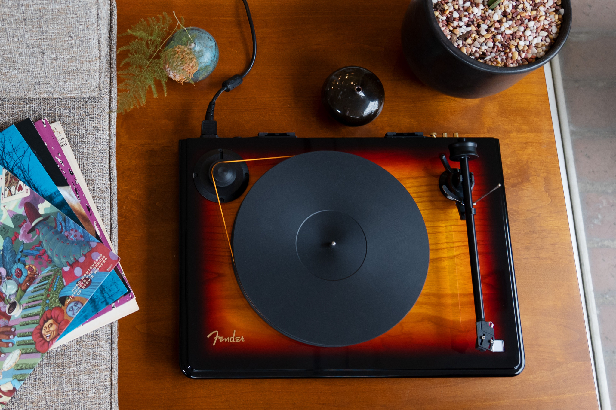 Fender x Mobile Fidelity Electronics Release Fender's First High-Performance Turntable